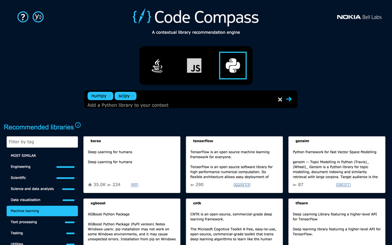 Code Compass Web-UI